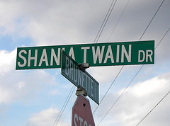 Shania Twain Drive
