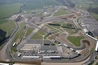 Aerial View of New Silverstone Grand Prix Circuit